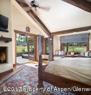 Master Bedroom with views of Sopris