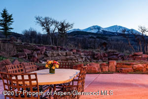 Patio with Sopris Views