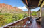Great views from your covered porch