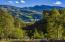 Unique view of Buttermilk over the Rio Grand Trail