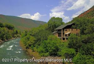 Located on the Roaring Fork River