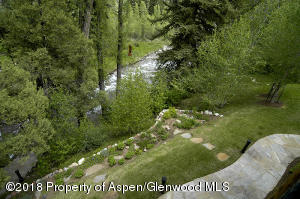 Just steps from Snowmass Creek