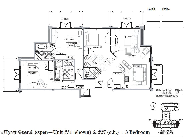 MLS# 154036 - 2 - 415 E Dean Street #Unit #27 Week 31, Aspen, CO 81611