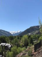 Aspen mountain - Independence and Red Mountain views from Patio
