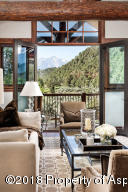 Master sitting Area with Sopris Views