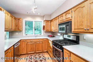 Large workable kitchen space with abundant counter tops