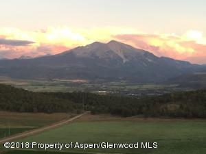 Mt Sopris Evening