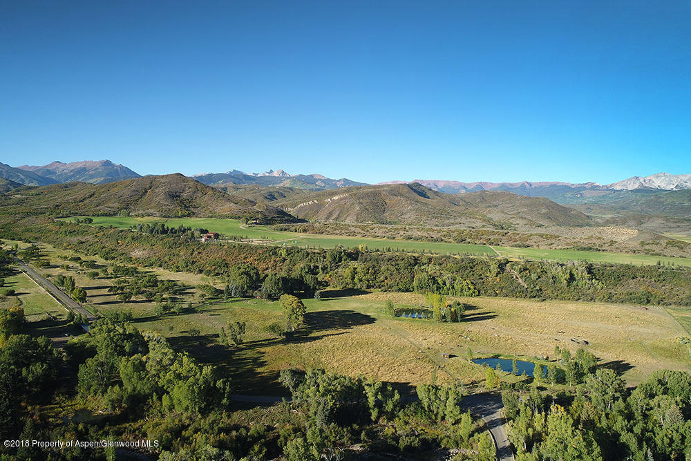 Quad III Ranch aerial view