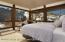 Wake to stunning views of the ski area from the upper level bedroom. Awning windows provide fresh air and ventilation.