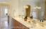 Master en suite with double vanity and spa garden tub