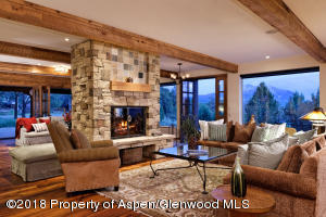 Family Room With Mountain Views