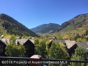 View From Deck Above the town-homes to Willow Peak