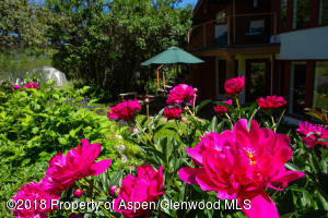 Beautiful Perennial Gardens on Lot 18