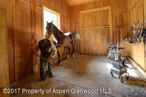 Horse shoeing stall