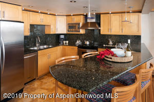 Every detail, every inch of space has been perfectly executed in this gourmet kitchen, fit for a proper chef!