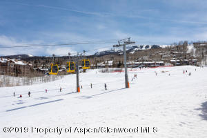 Watch all the happy skiers on Fanny Hill from your living room, kitchen, dining area and both patios!