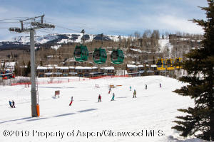 Fabulous views of the top of the Snowmass Ski area...the