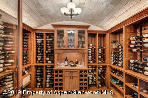 One thousand bottle wine room