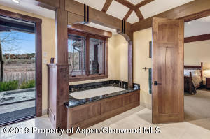 Master Bathroom with access to hot tub