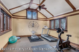 West Wing fitness room
