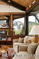 Living Room with Aspen Mtn Views