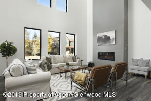 Fabulous windows bring in lots of natural light in to your wonderful family room and living room area. Enjoy a warm fireplace pre-wired for a future large screen television