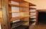Storage on lower level