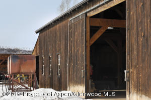 Barn for storage and entertainment