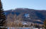A direct view of Burnt Mountain and the White River National Forest...
