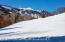 Magnificent south-facing views of the entire ski mountain...