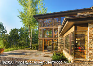 Located up W. Buttermilk Rd, Eagle Pines features stunning views and architecture.