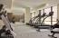 2,500 SF fitness facility with Peloton bikes