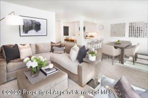 Sleek modern design with Restoration Hardware furnishings