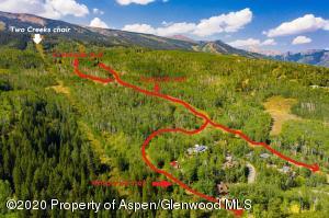 Private Two Creeks ski trail comes off of Cascade.