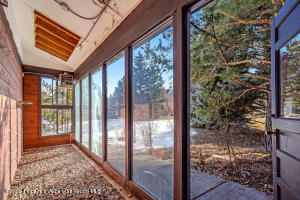Heated Mudroom or greenhouse space to welcome friends and family