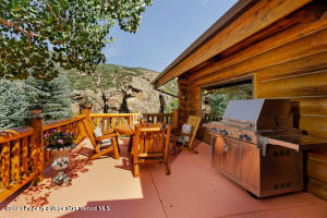 wrap-around deck overlooking