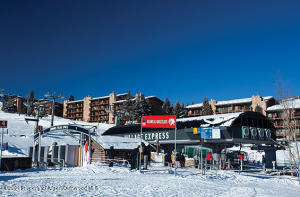 Easy ski access from The Stonebridge to the Village Express chairlift, the Skittle cabriolet to the Village Mall, or to the Elk Camp gondola.
