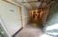 Hallway to very large storage room