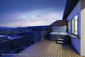Private, rooftop spa