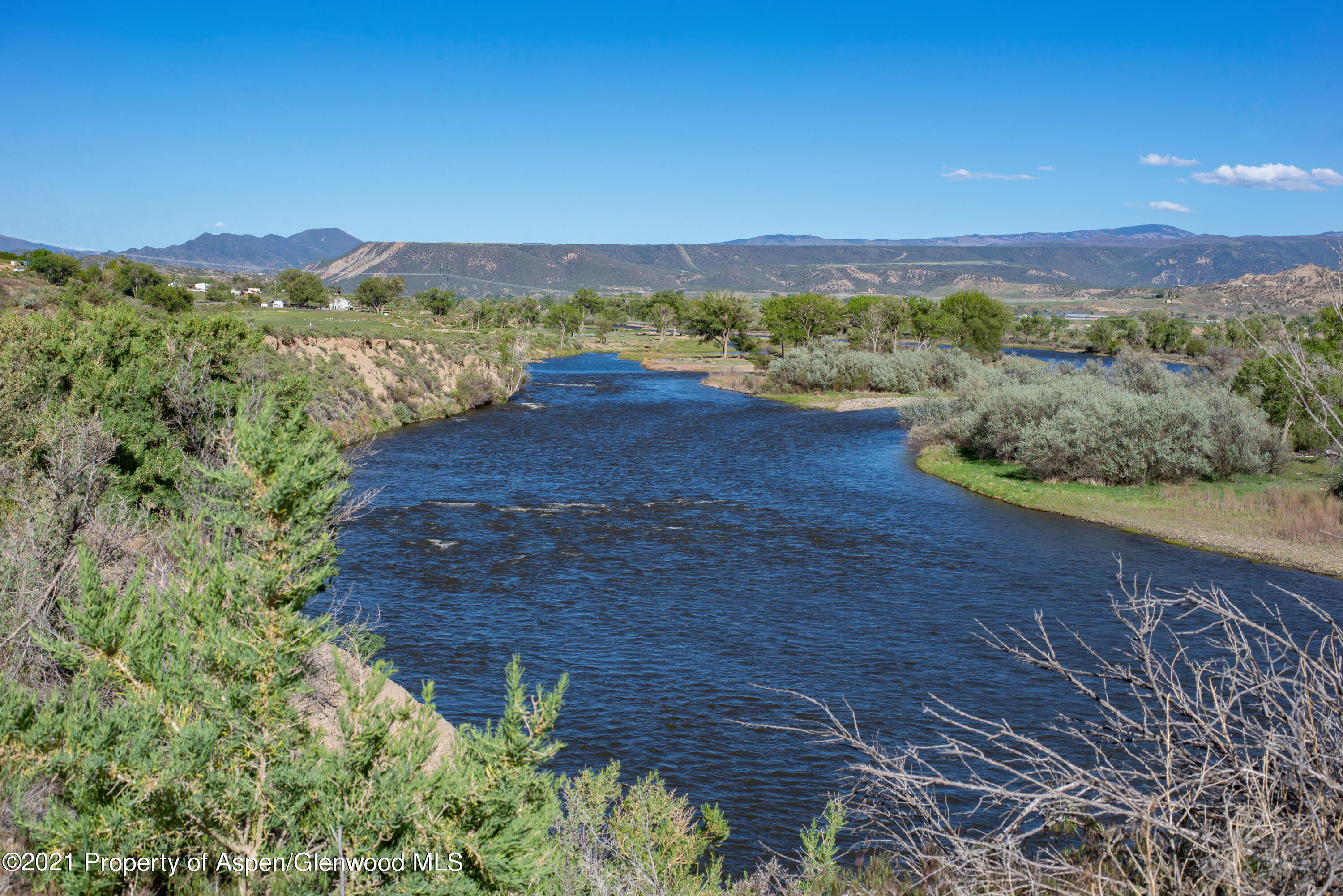 ''Buy land, they're not making it anymore'' - Mark Twain. This statement holds true today, and even more with a rare find like this. 7.923 Acres located on the Colorado River, offering river frontage and views for days. Plan for your future today!