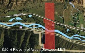 Land extends across Highway 82.