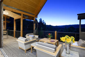 Covered outdoor entertainment center-heated