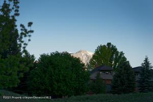 Setting Sun over Mt Sopris