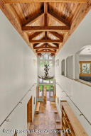 Dramatic vaulted ceilings as you enter the home