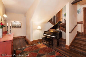 Featuring baby grand piano included in sale.