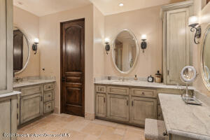 Master Bath dual vanities