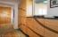 Built-in cabinetry in master bedroom