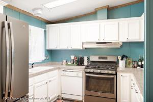Upstairs master kitchen