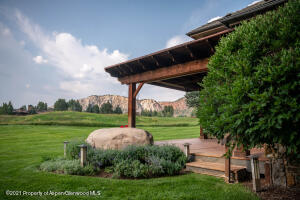 Aspen Glen Golf Course Views off the Side Deck