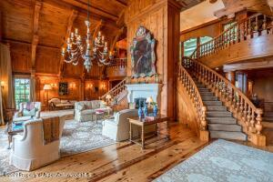 Great Room showing Stairs
